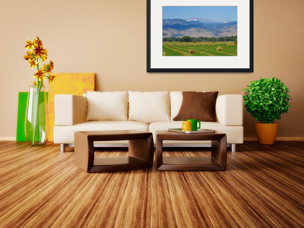 """""""August Hay Boulder County Colorado&quot  (2011) by lightningman"""