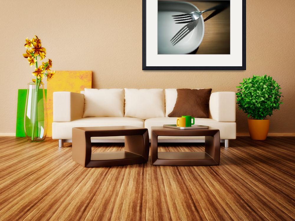"""""""Fork and Saucer""""  (2008) by lensnation"""