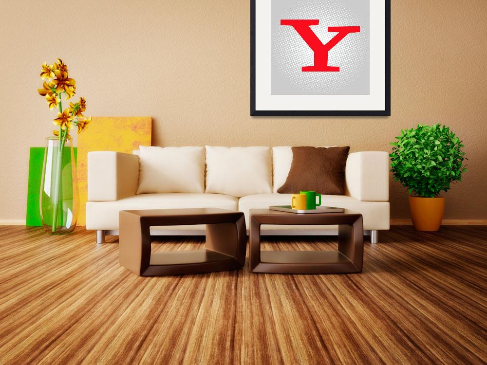 """""""Y-yahoo&quot  by LetterPopArt"""