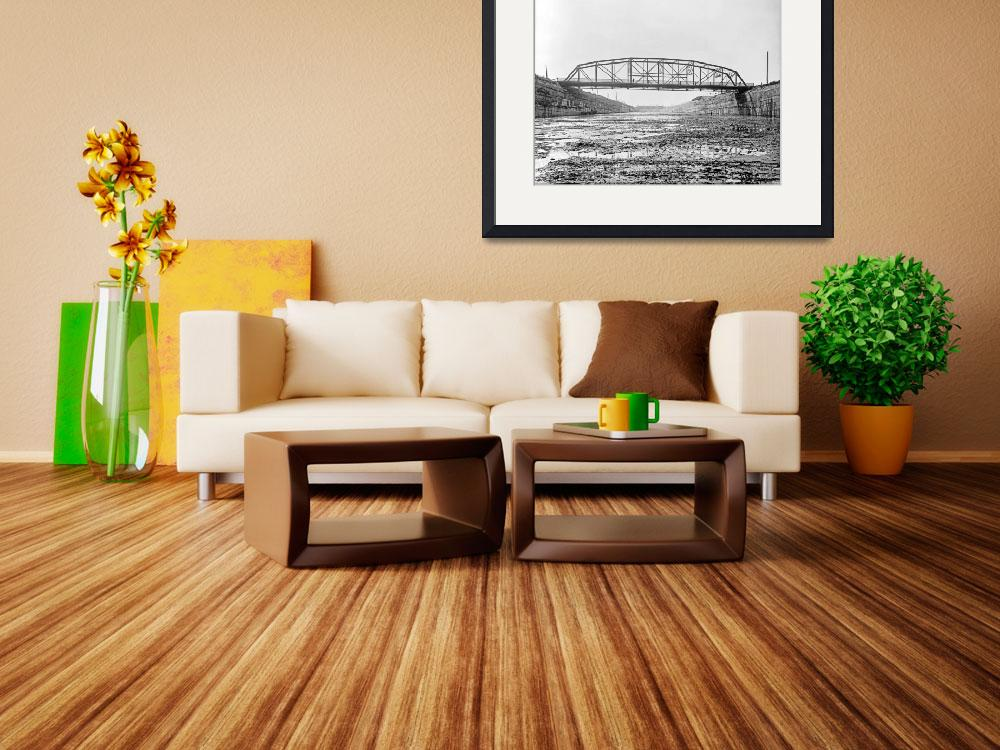 """""""5231-Sault_Ste_Marie_1902-fortstreetbridge&quot  by North22Gallery"""