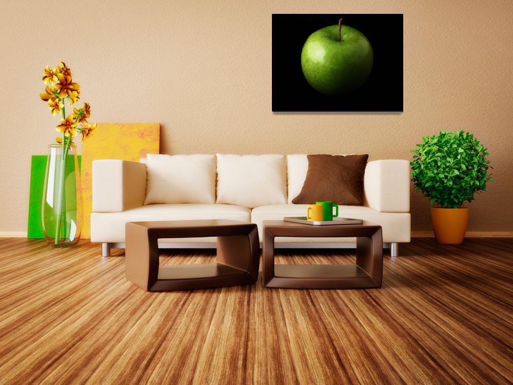 """""""Green Apple&quot  (2012) by photoshot44"""