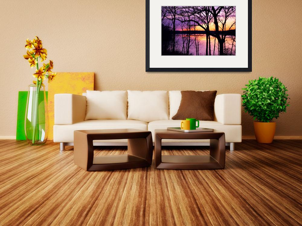 """""""Sunset shawnee mission park&quot  by TaylorMadeArtUS"""