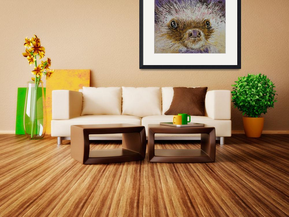 """""""Hedgehog&quot  by creese"""