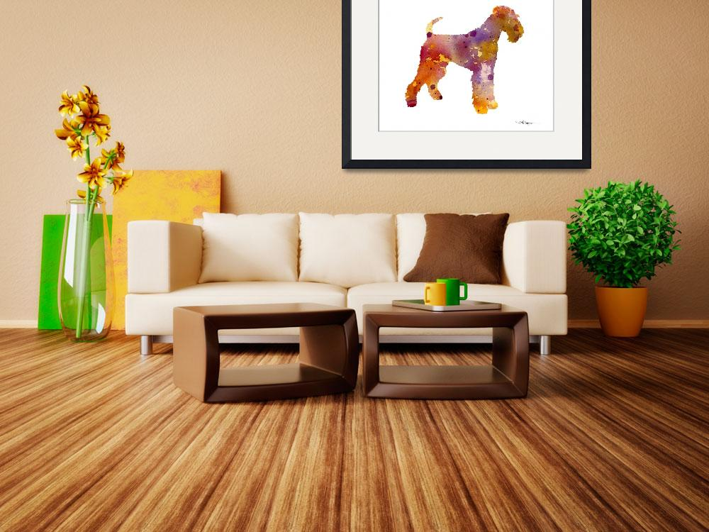 """""""Airedale Terrier&quot  (2015) by k9artgallery"""