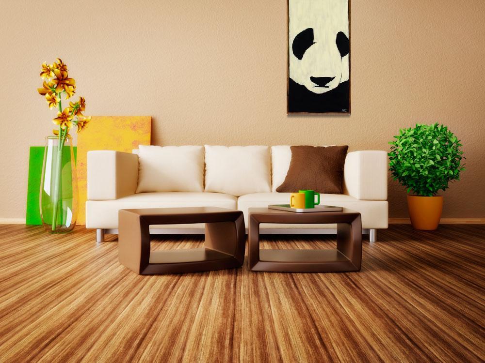 """""""Panda&quot  (2002) by harryboardman"""