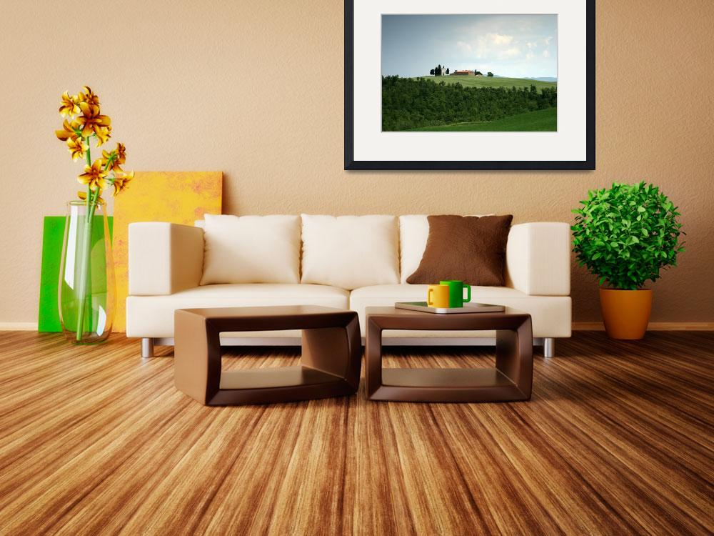"""""""Tuscan Countryside&quot  (2007) by DAllen"""