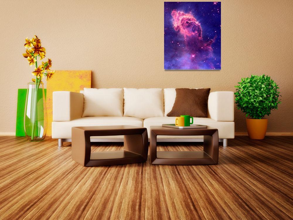 """Carina Nebula Enhanced III&quot  (2014) by TheNorthernTerritory"