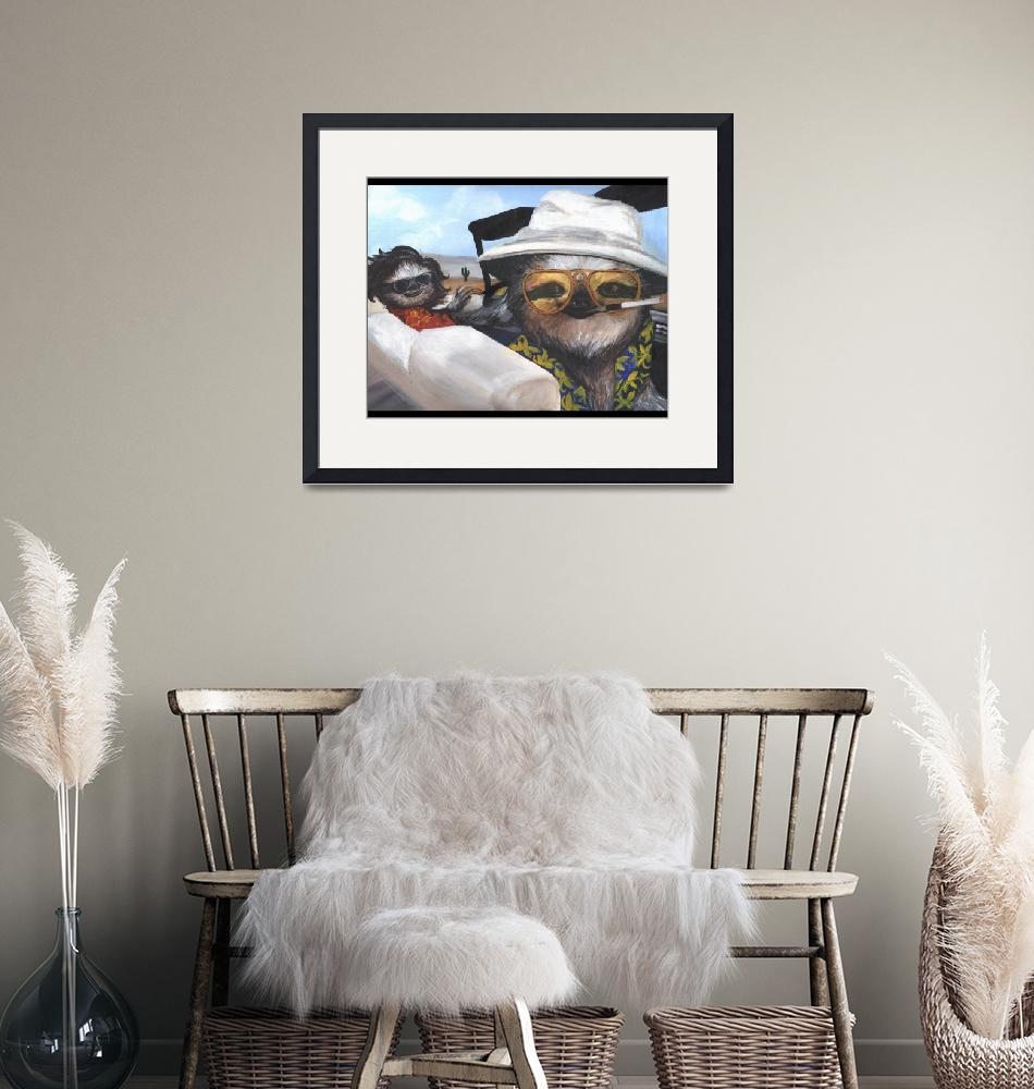 """""""Fear and Loathing in Sloth Vegas""""  (2013) by sabrinacolada"""