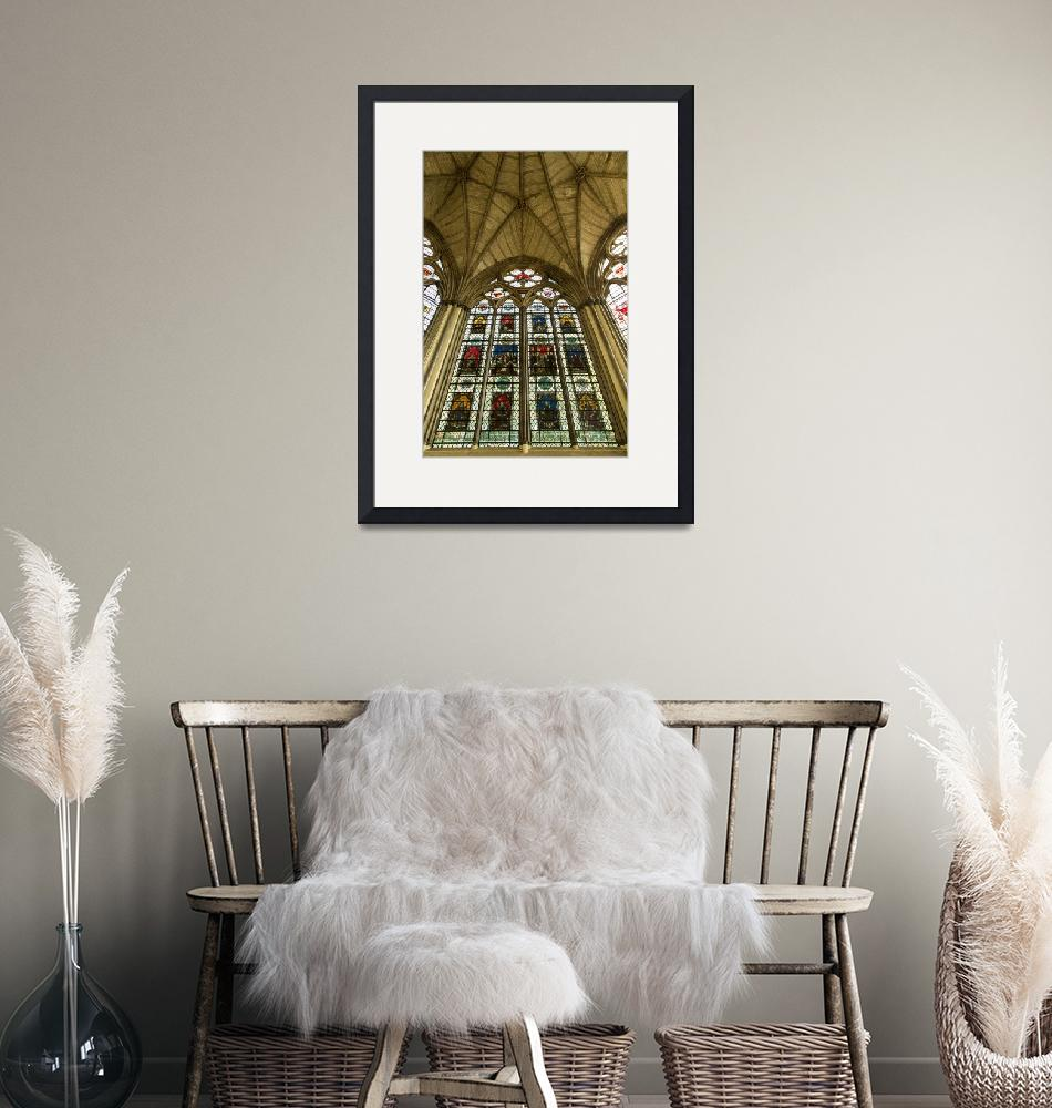 """""""Westminster Abbey Chapter House 2""""  by JohnDaly"""