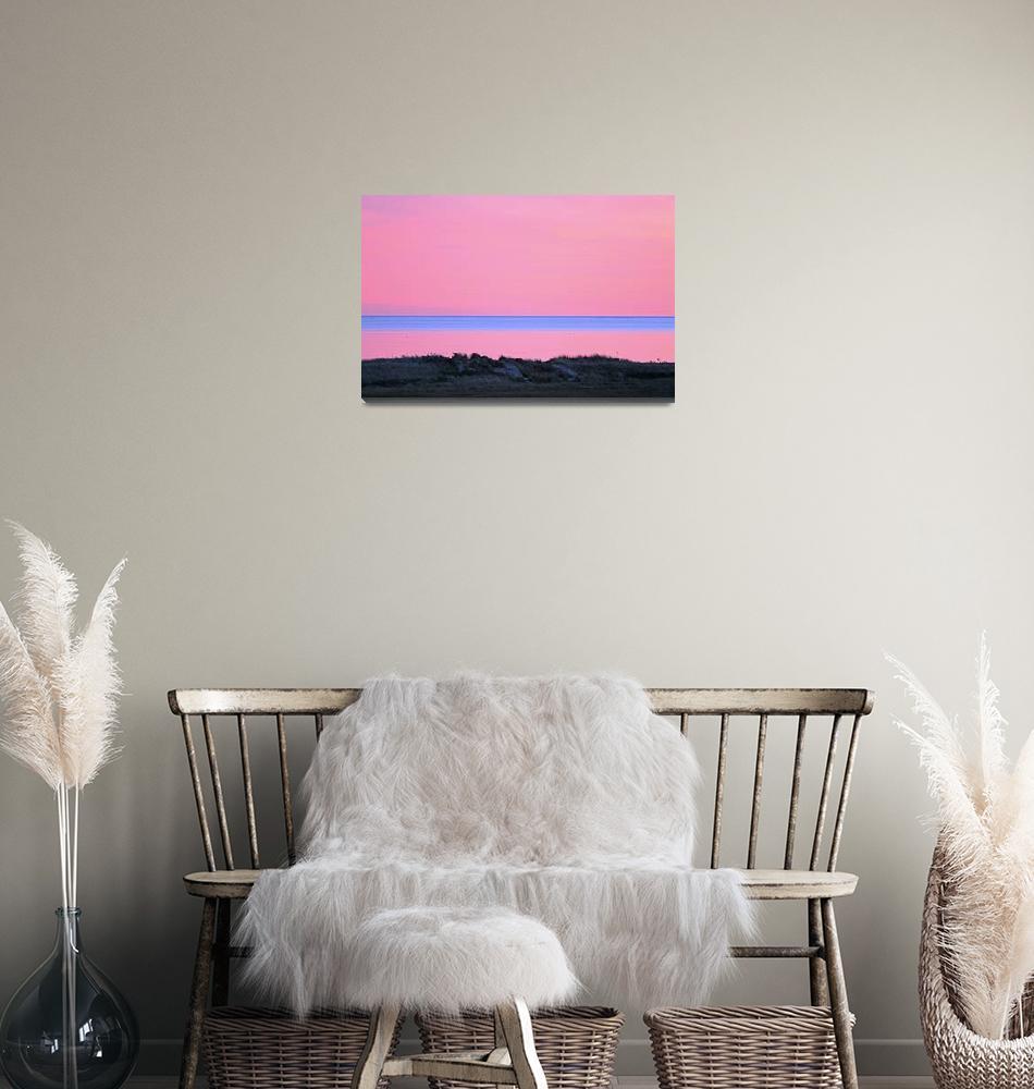 """Cape Cod Sunset & Dunes""  (2007) by ChrisSeufert"