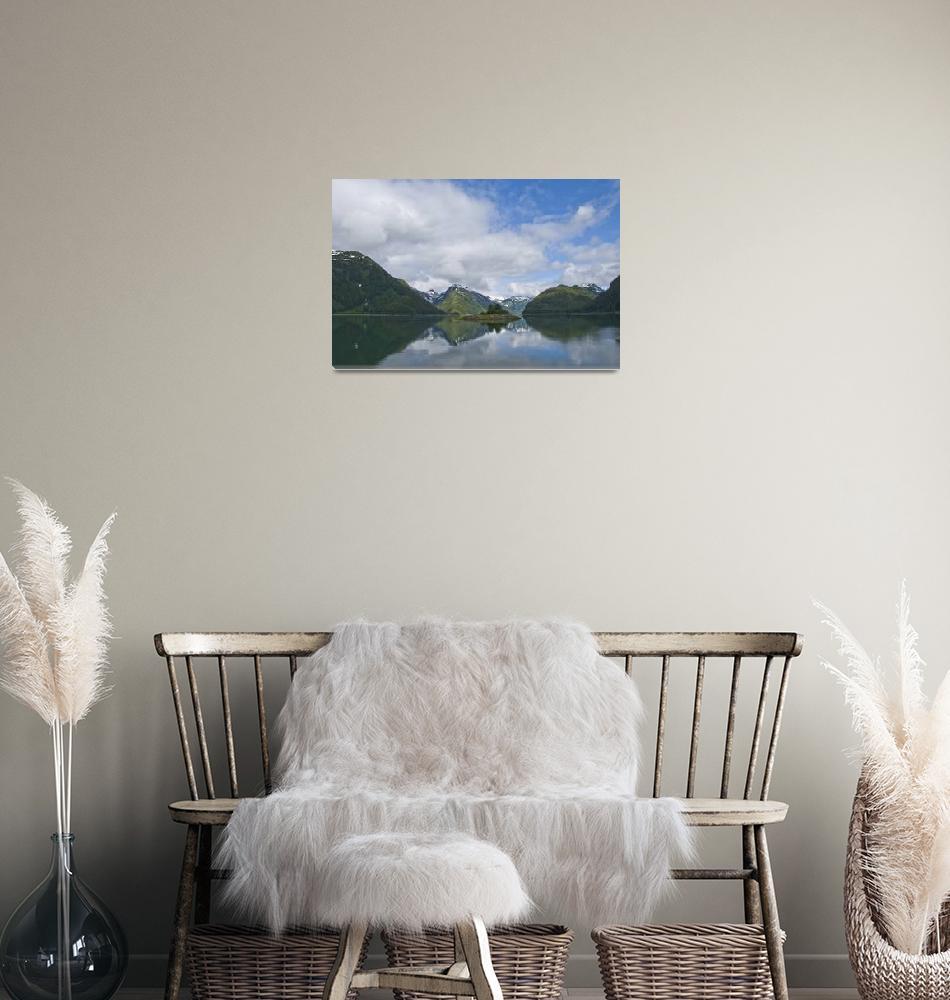 """Magical Dundas Bay, Glacier Bay National Park""  (2008) by SederquistPhotography"