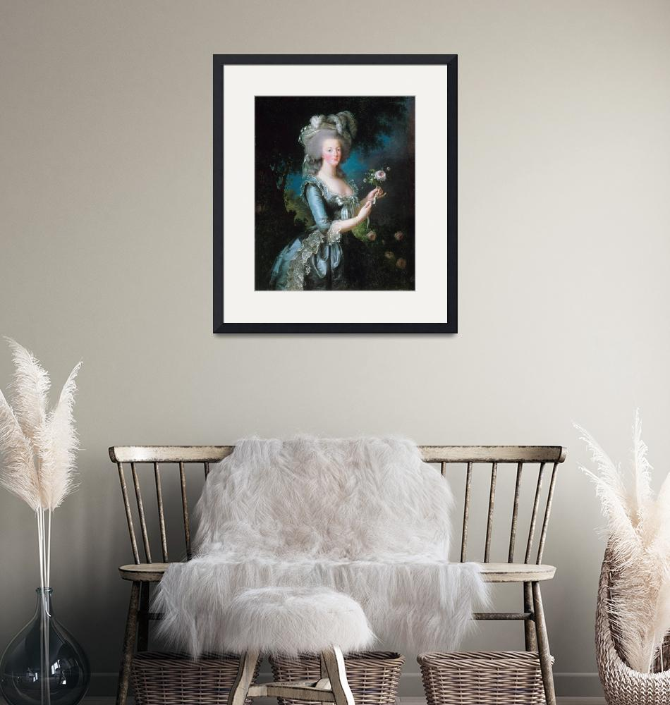 """""""Marie Antoinette Young"""" by FineArtClassics"""