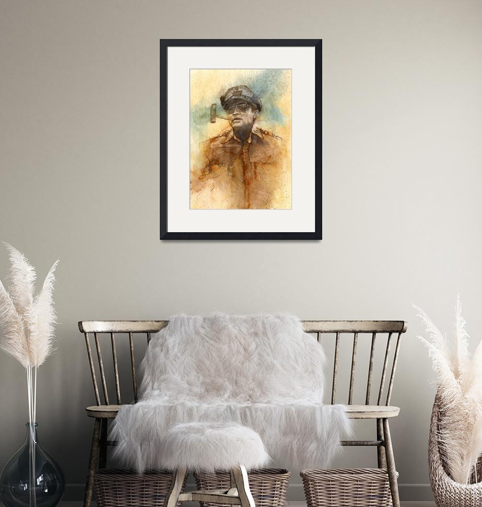 """""""General Douglas MacArthur""""  (1990) by smitchell"""