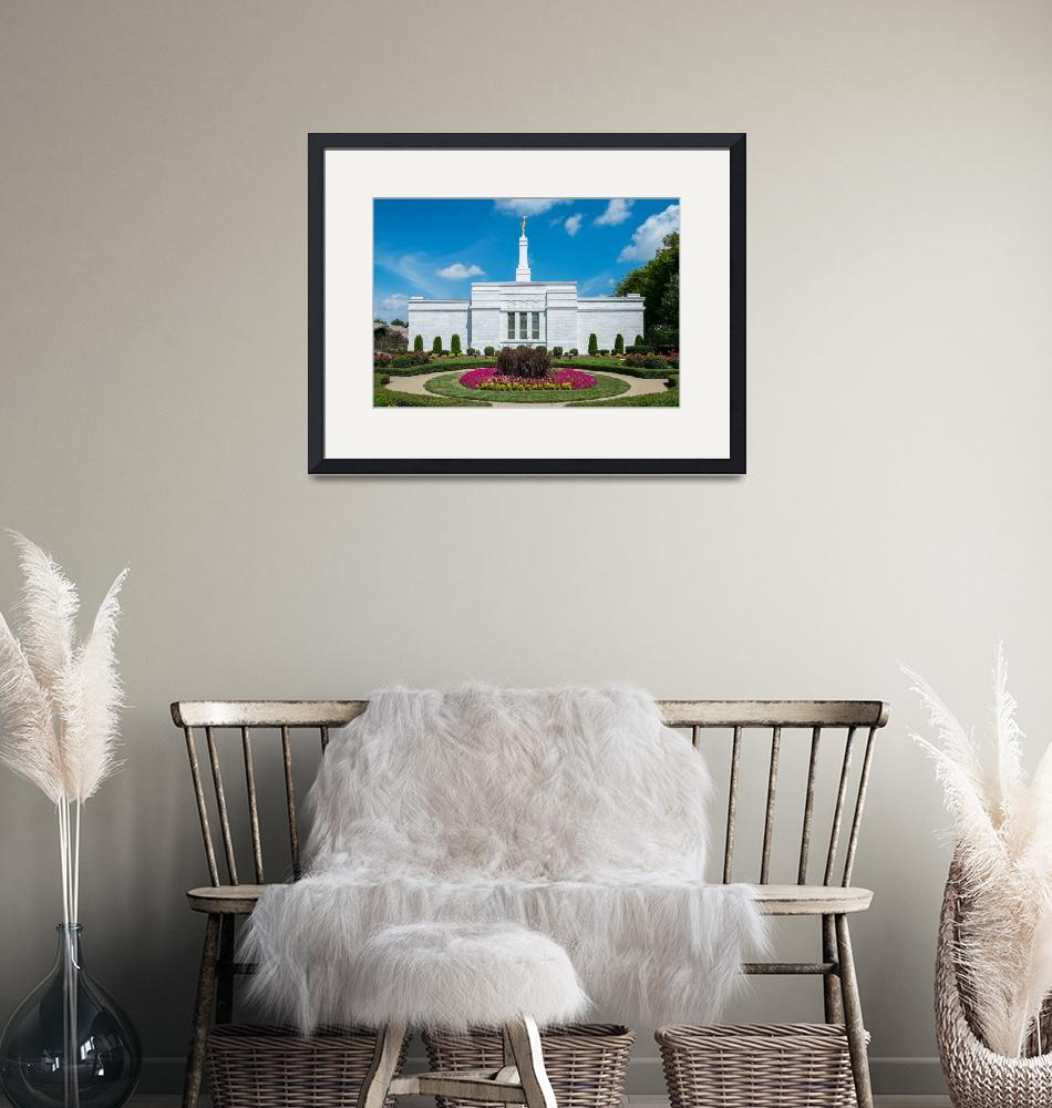 """""""Nashville Temple and Gardens""""  (2014) by dbwalton"""