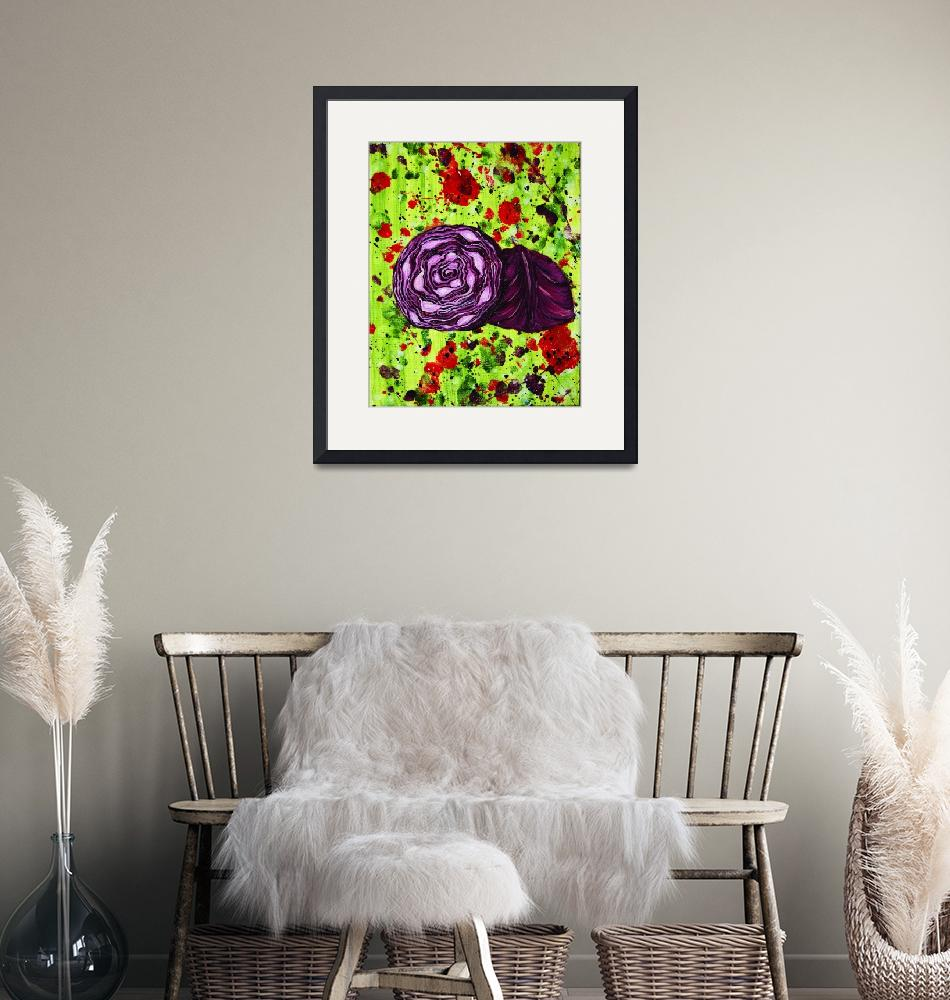 """""""Red Cabbage""""  (2009) by alwhitney"""