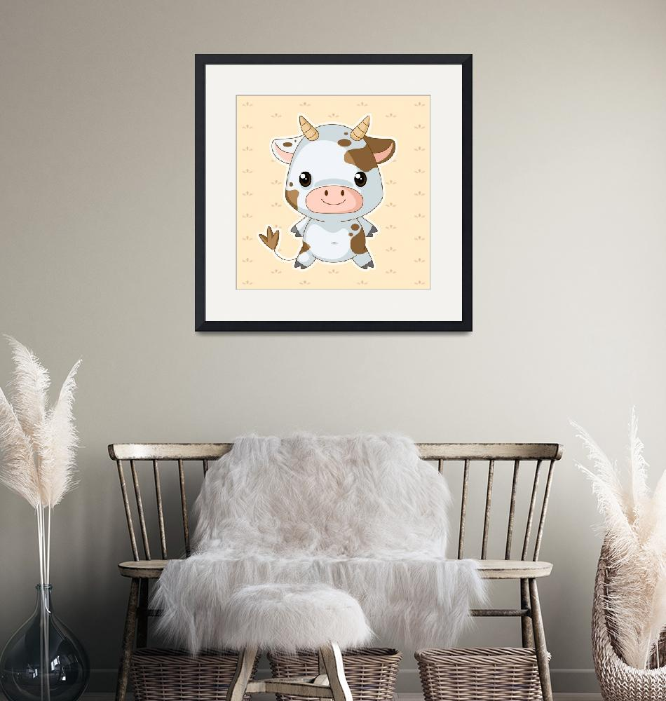 """""""Cow""""  (2011) by nomi"""