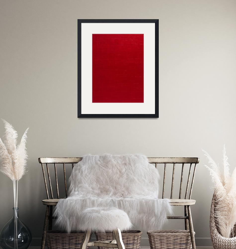 """""""red""""  by michaelcallaghan"""