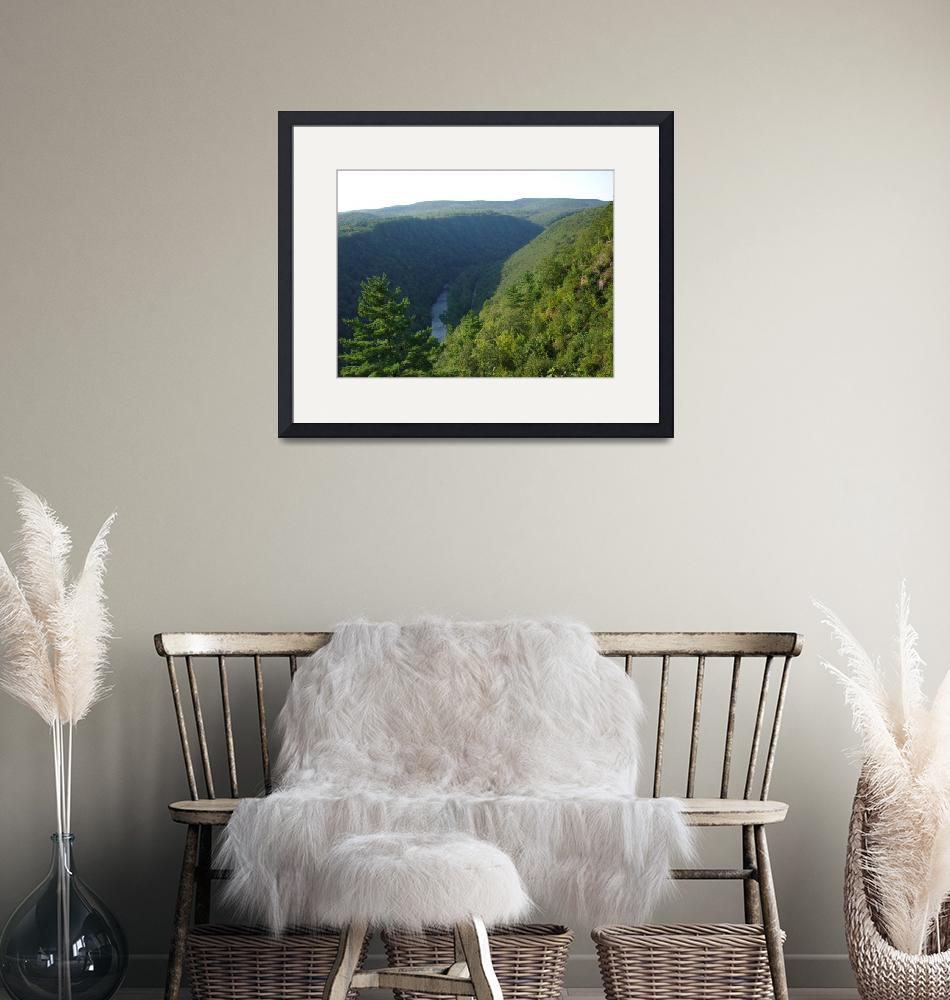 """""""North View Pennsylvania Grand  Canyon by Ave Hurle""""  (2009) by AveHurley"""