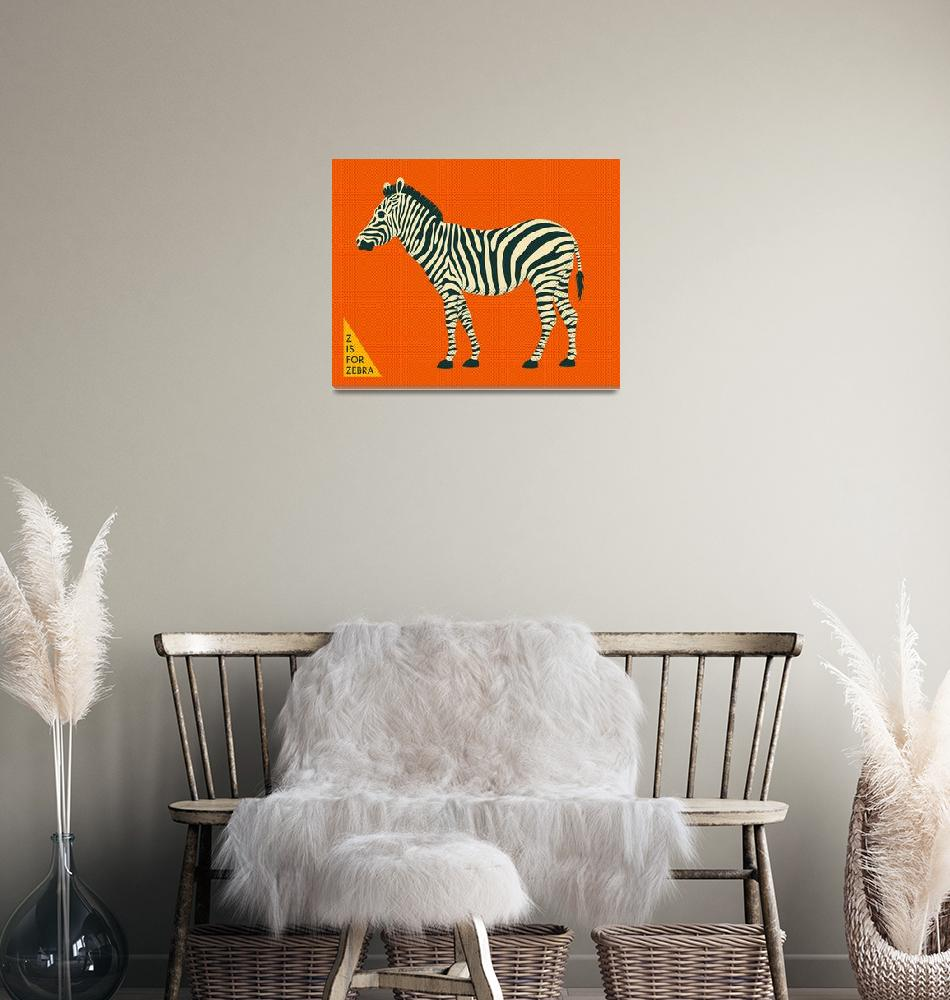 """""""Z is for Zebra""""  by JazzberryBlue"""