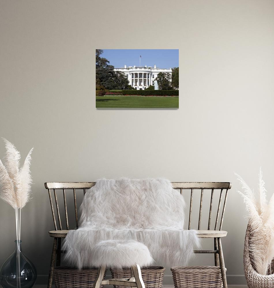 """White House in Washington DC""  (2010) by lillisphotography"
