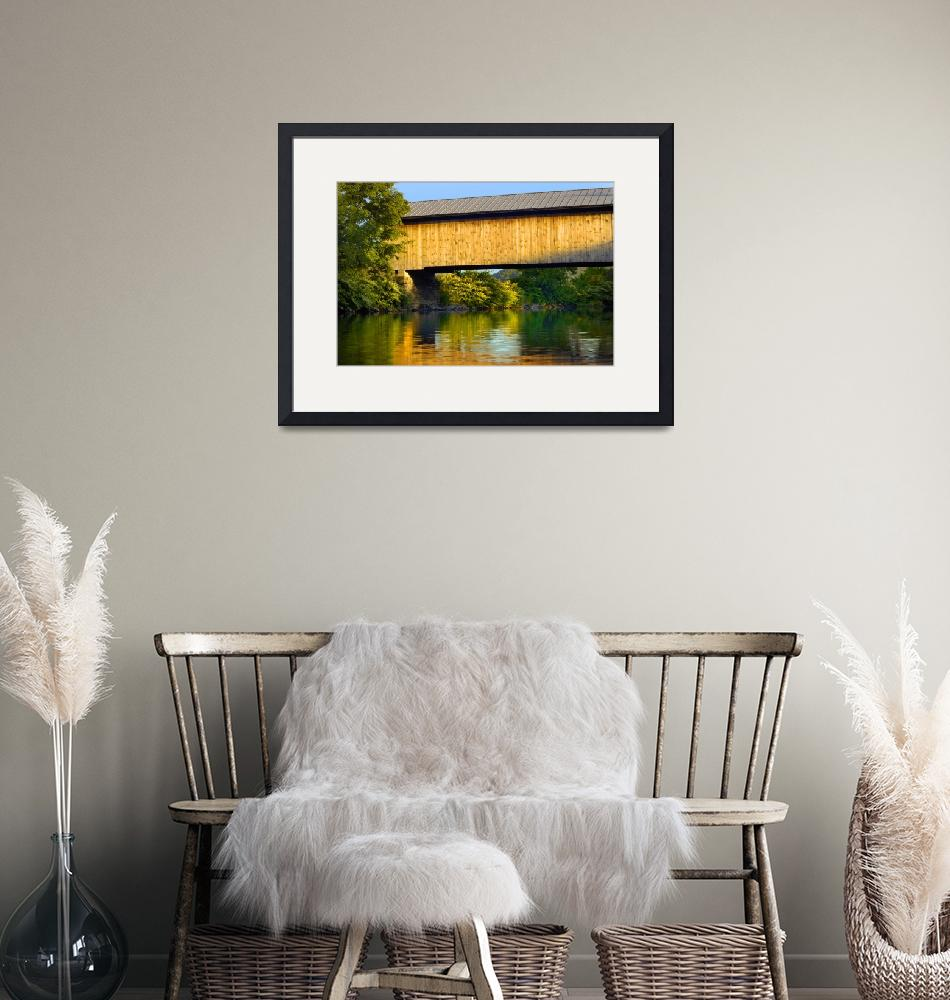 """Hopkins Covered Bridge I""  (2007) by CaptiveLight"