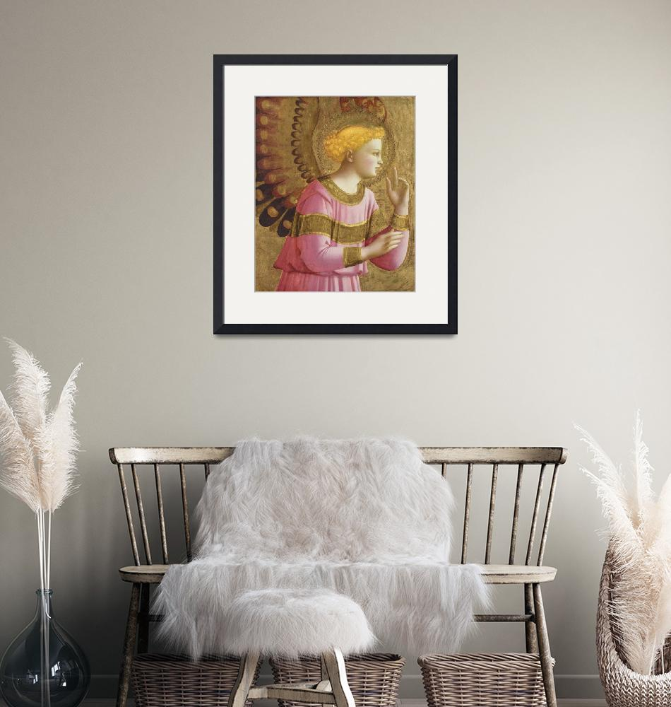 """""""Fra Angelico~Annunciatory Angel""""  by Old_master"""