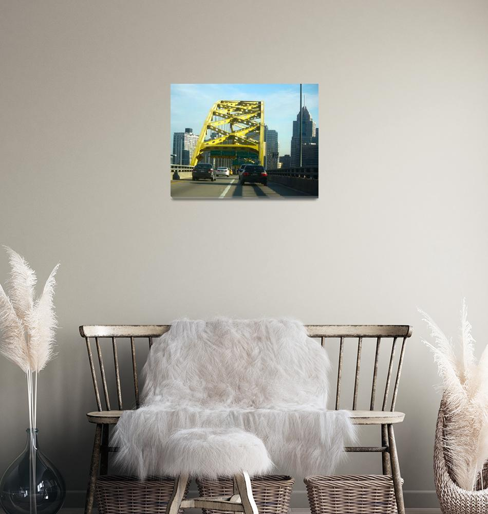 """""""Pittsburgh Skyline after Tunnel""""  (2011) by bill26003"""