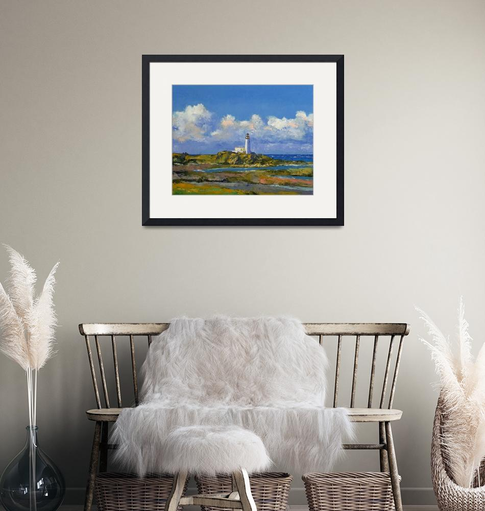 """""""Turnberry Lighthouse""""  by creese"""