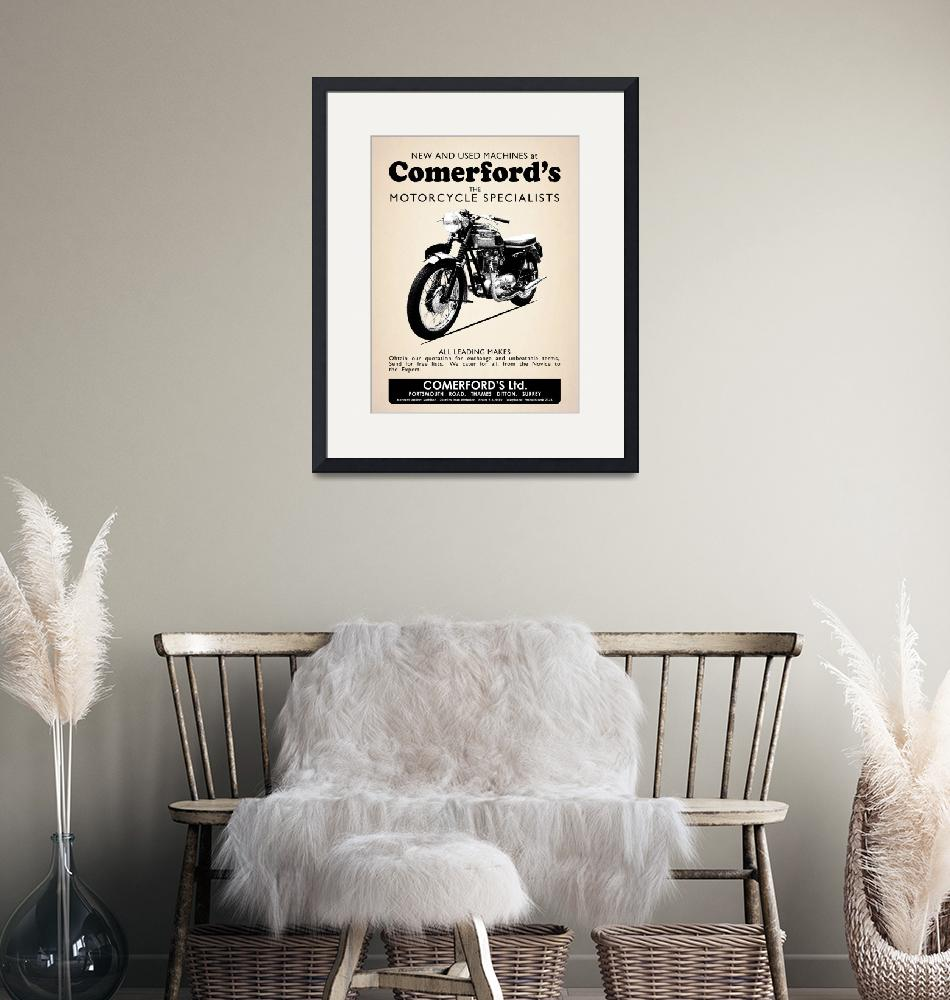 """""""The Comerfords Vintage Advert""""  by mark-rogan"""