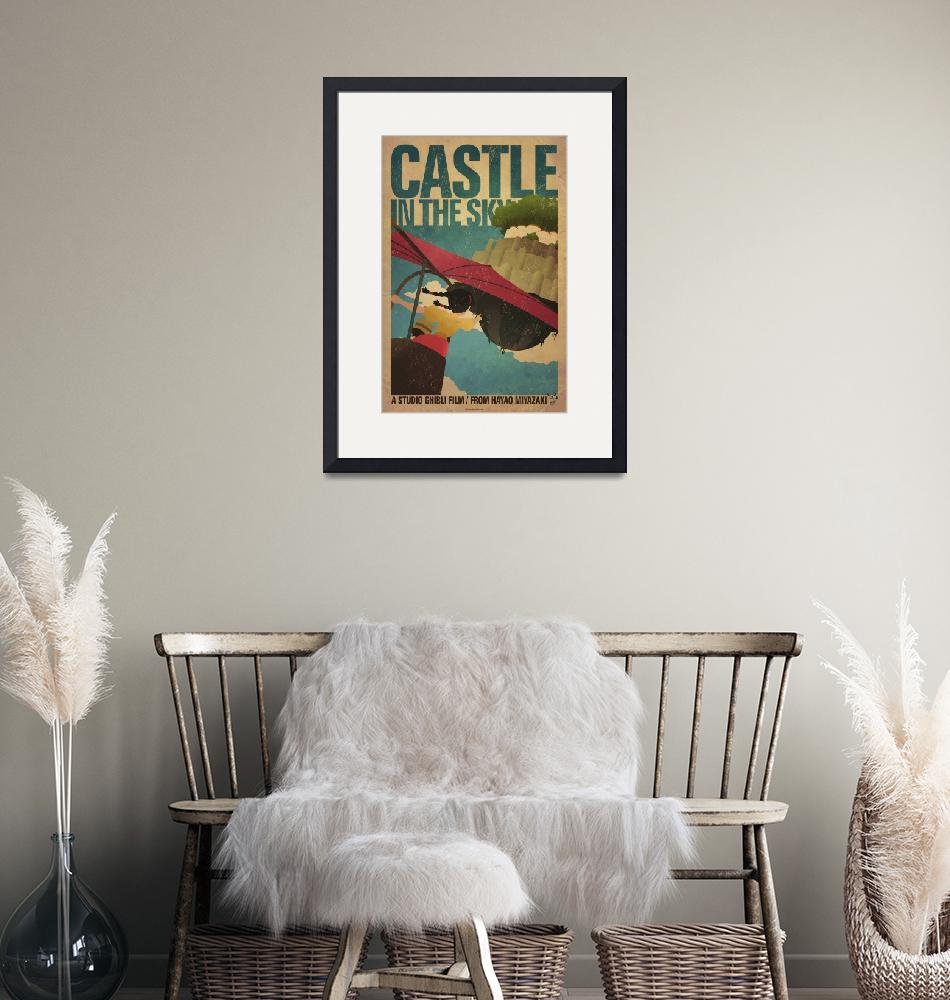 """""""Castle in the Sky"""" (2011) by curtsywithanger"""
