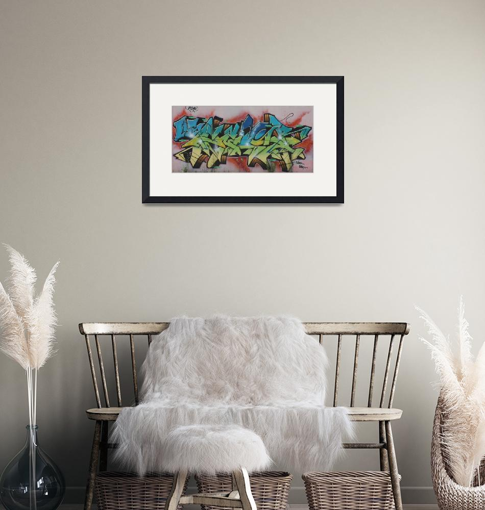 """Cool Pic Framed Photo""  by buddakats1"