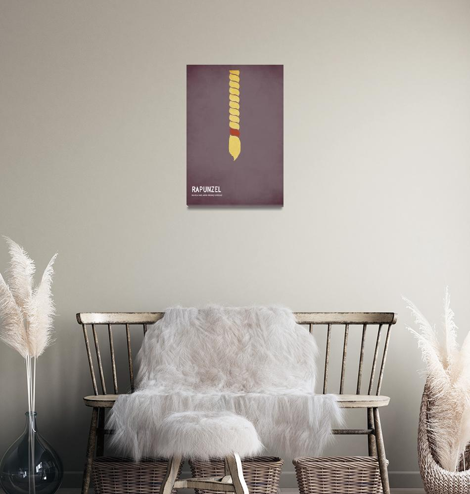"""Rapunzel""  (2010) by squareinchdesign"