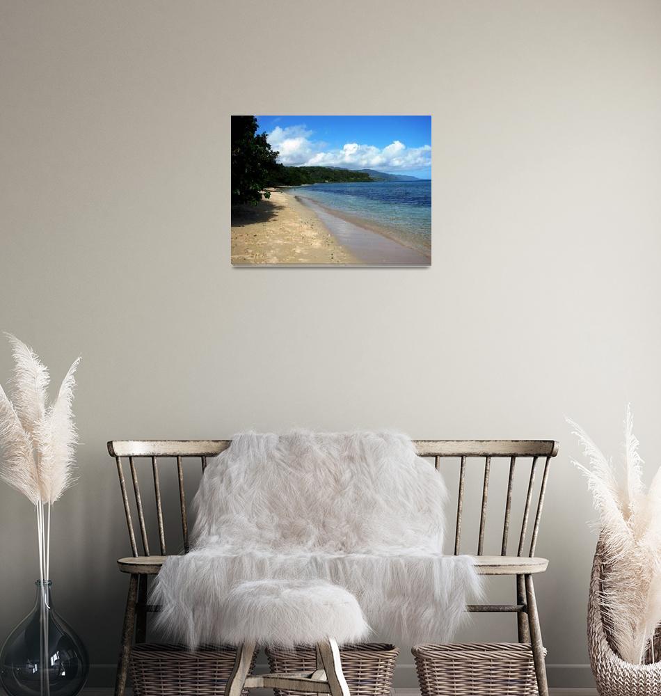 """Eastwood Beach, Koro Island, Fiji""  (2008) by lisa_w"