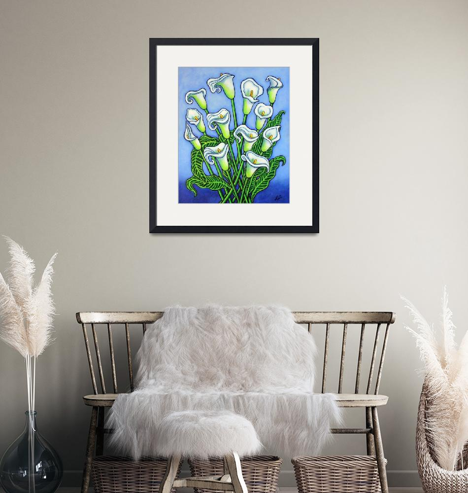 """""""Calla Lily Dreaming""""  (2020) by LisaLorenz"""