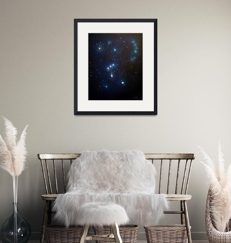 """""""Orion the Hunter""""  (2012) by timothybenz"""