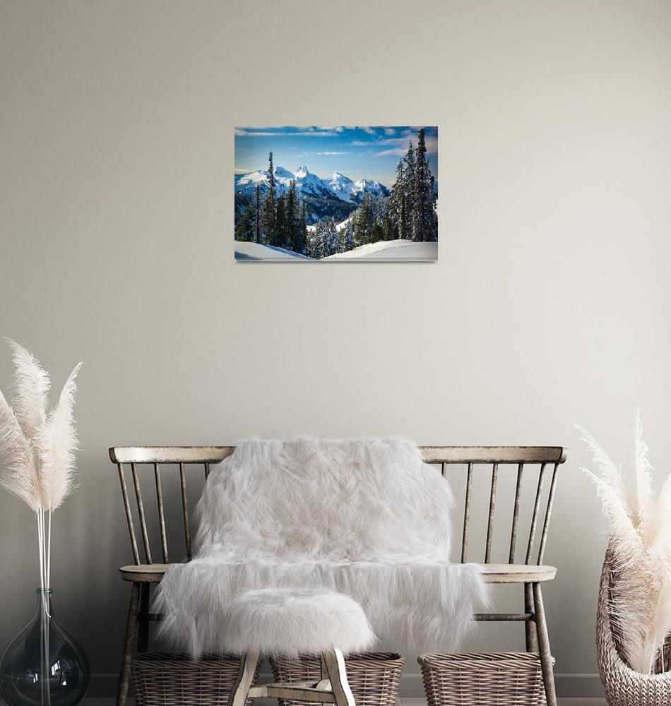 """Tatoosh Winter Wonderland""  (2012) by Inge-Johnsson"