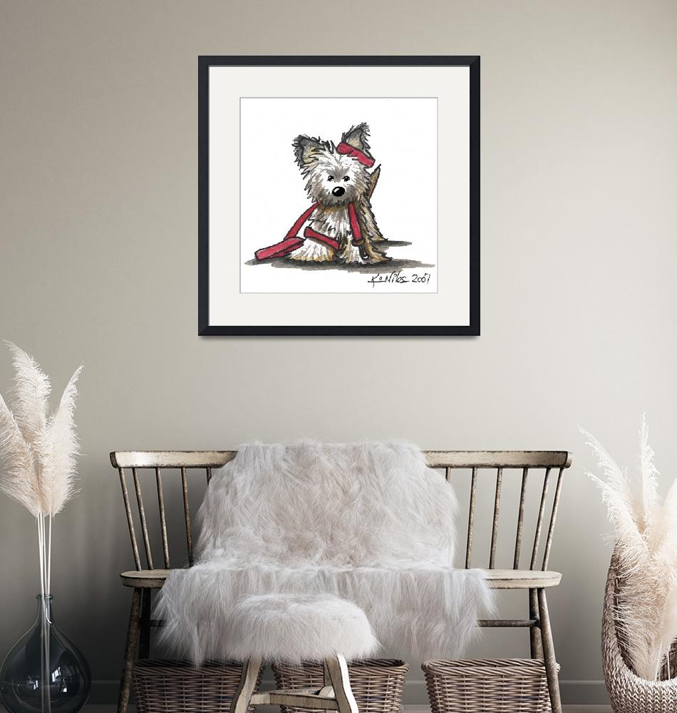 """Stir Crazy Rascal""  (2007) by KiniArt"