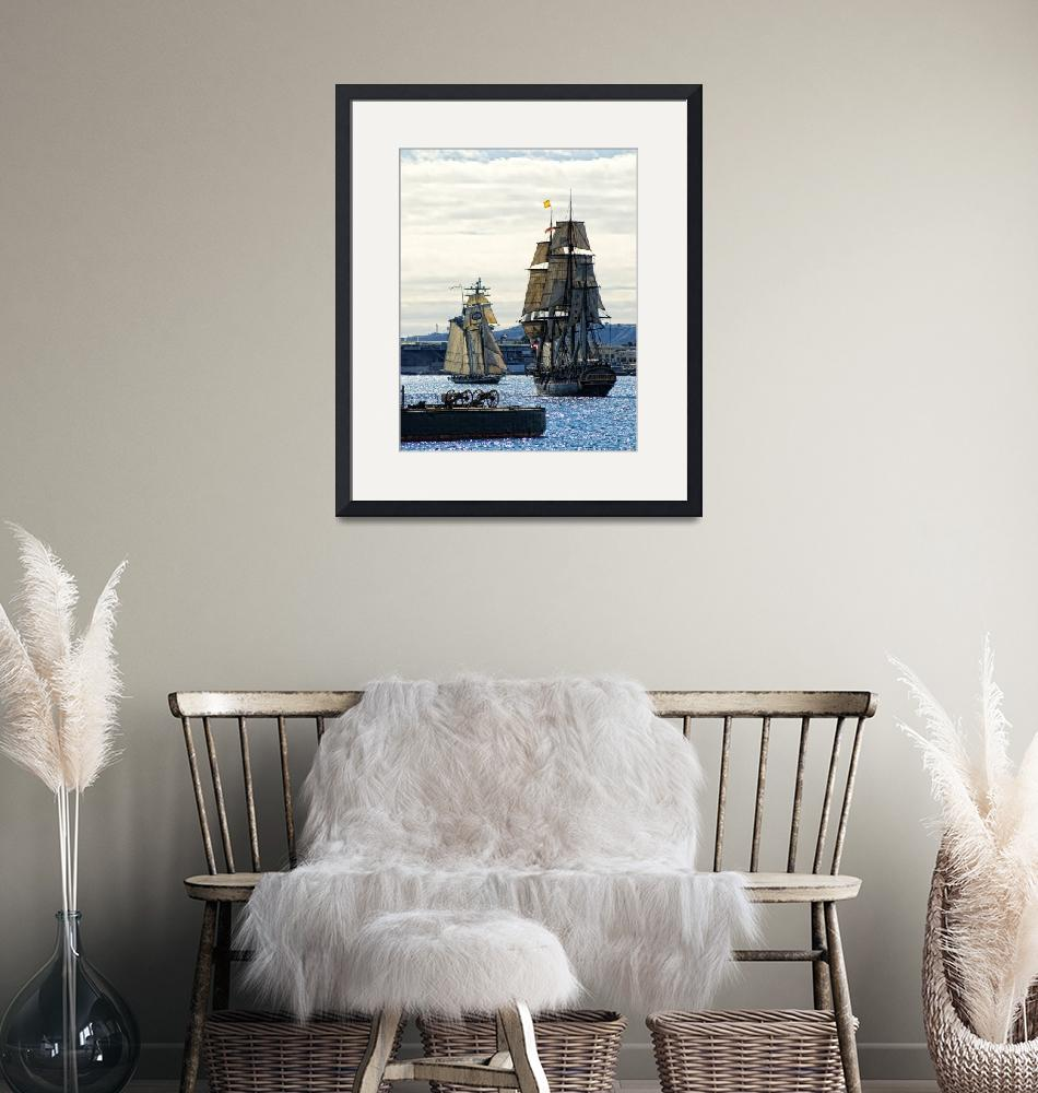 """""""Tall Ships""""  (2009) by BobLewis"""