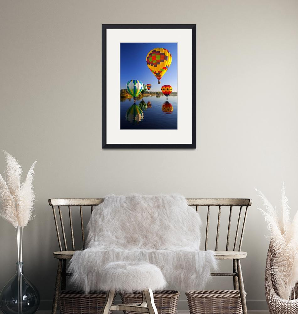 """""""Balloon Reflections""""  (2010) by Dawsonimages"""