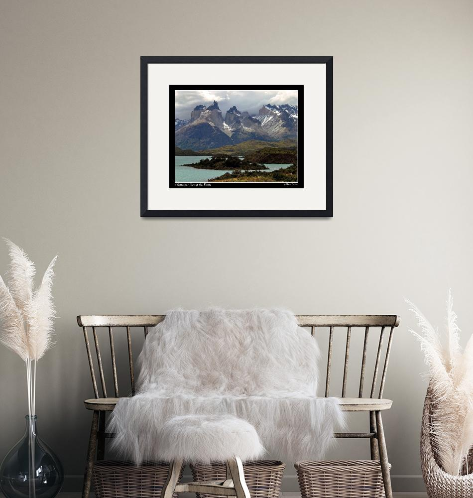 """""""Patagonia - Torres del Paine""""  (2005) by marcogabbin"""