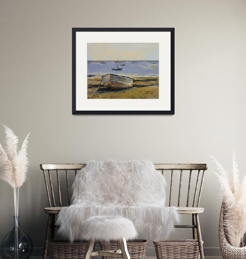 """""""Boats in Provincetown Harbor""""  by creese"""