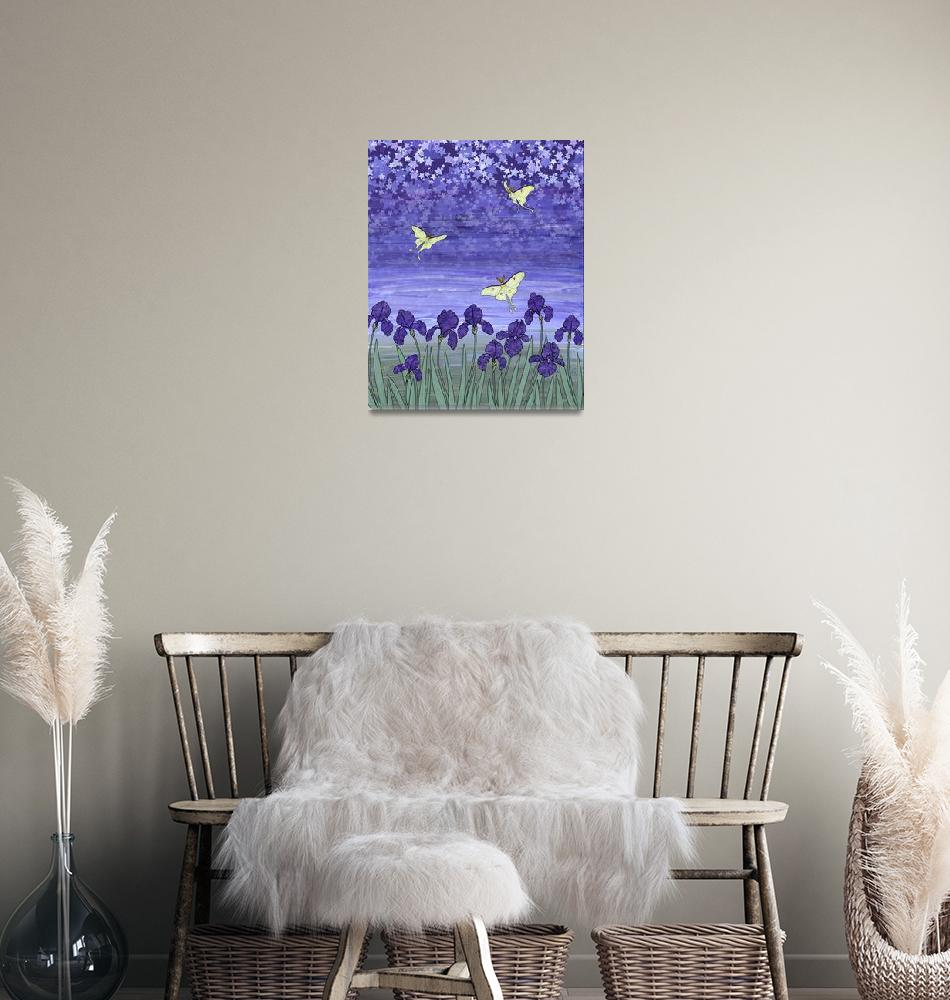 """""""violet night""""  (2009) by sarahkdesigns"""