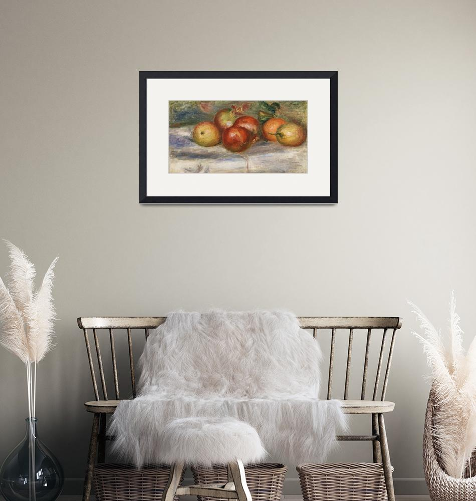 """Apples, Oranges, Lemons by Renoir""  by FineArtClassics"