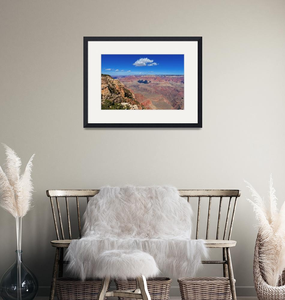 """""""Grand Canyon Cloud Shadow""""  (2012) by FordLou"""