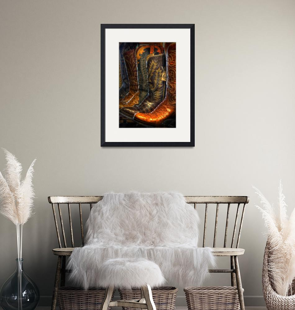 """""""Boots in the Wild West Store (4)""""  (2008) by dawilson"""