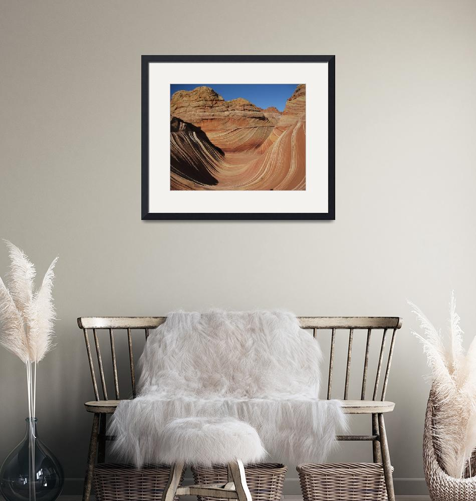 """The Wave at Coyote Buttes""  (2007) by Michelehall"