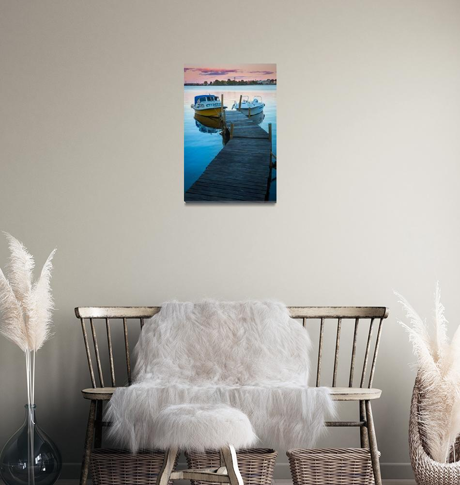 """Saltö Boats""  (2013) by Inge-Johnsson"
