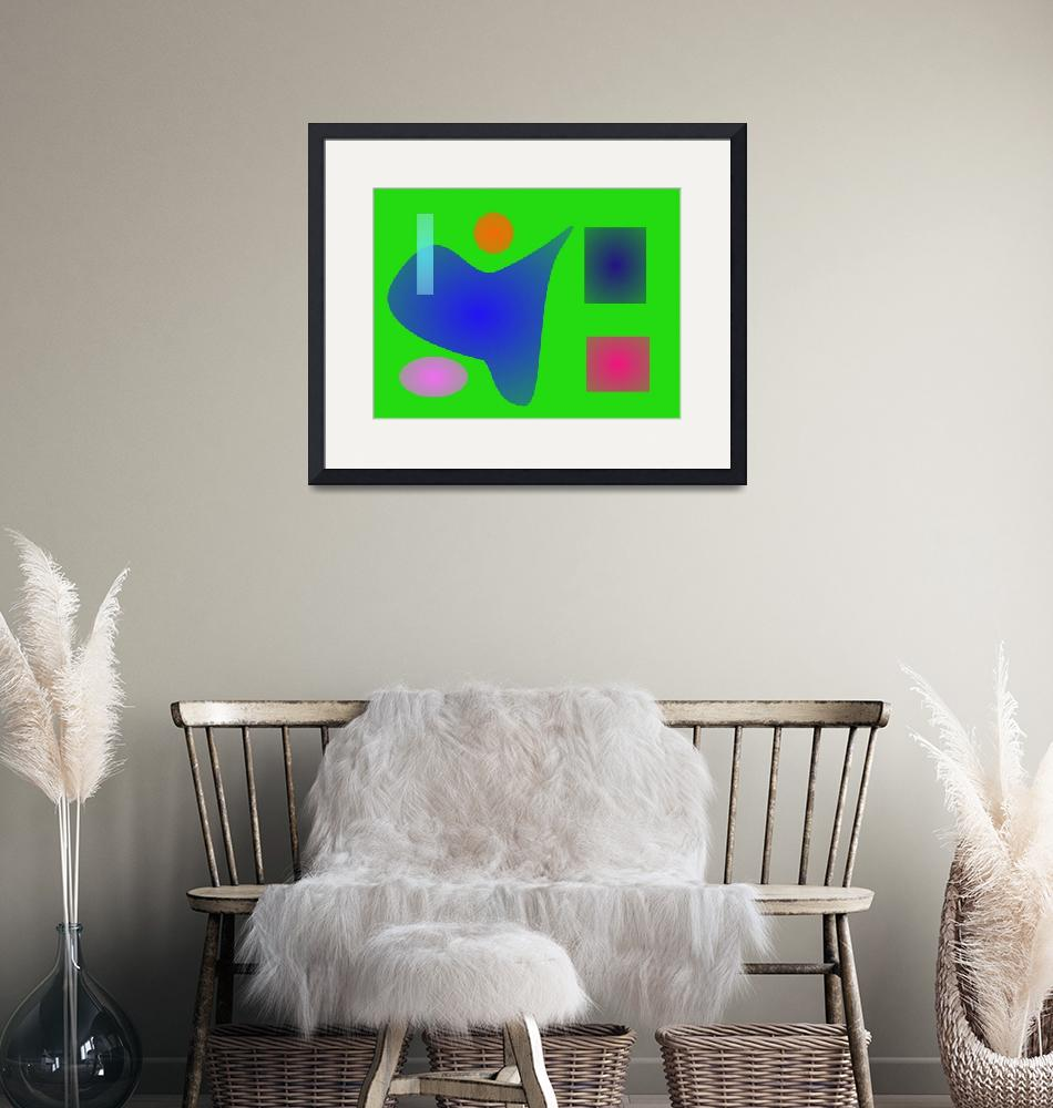 """""""Minimalism Blue and Green""""  by masabo"""
