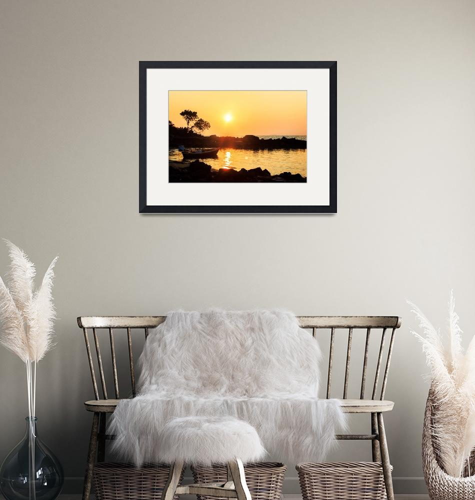 """""""Relax beach sunset 8""""  (2012) by Chrisseee"""