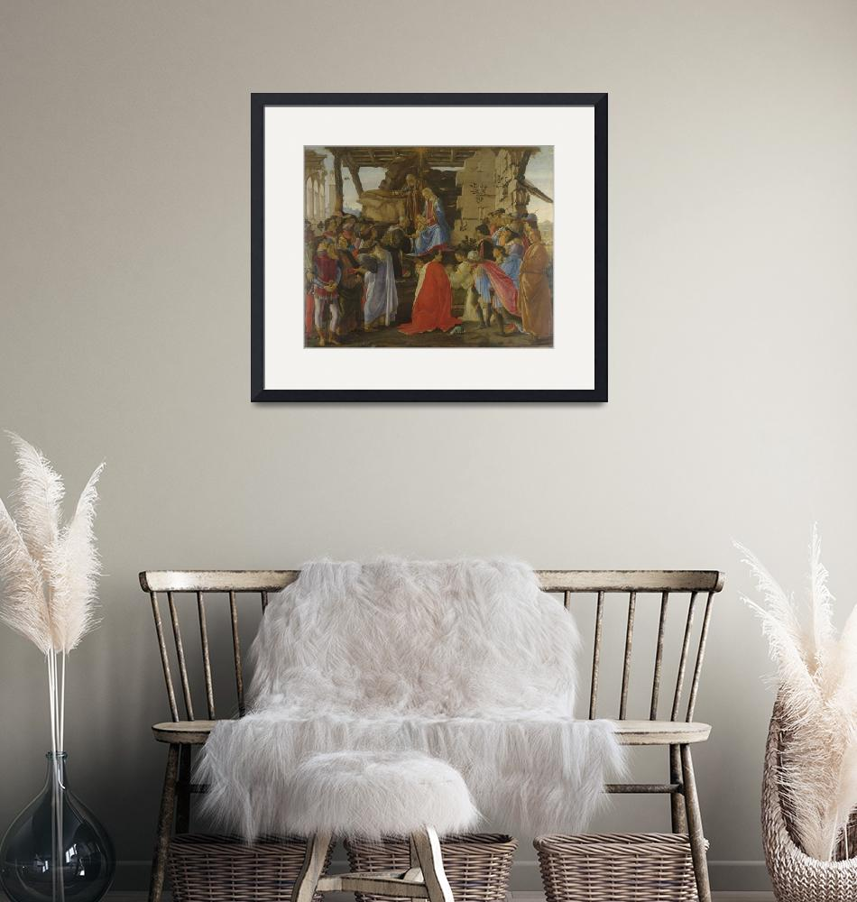 """""""Sandro Botticelli~Adoration of the Magi"""" by Old_master"""